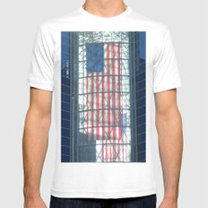 The Flag Mens Fitted Tee SMALL White