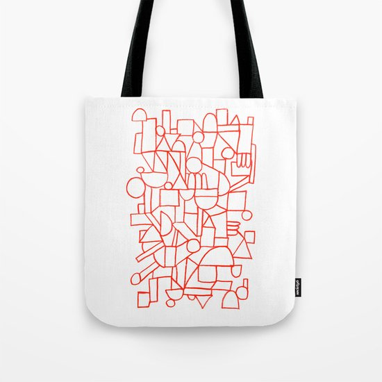 Rad lines Tote Bag