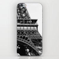 Eiffel BW No.2 iPhone & iPod Skin