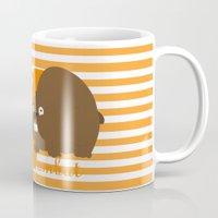 w for wombat Mug