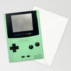 Gameboy Color: Mint Stationery Cards