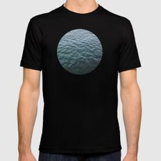 Planetary Bodies - Water Black SMALL Mens Fitted Tee