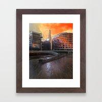The London Shard Framed Art Print