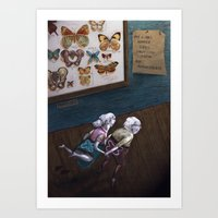 Mr & Mrs Hopper were enjoying their hip replacements. Art Print