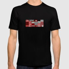 Row Houses  SMALL Black Mens Fitted Tee