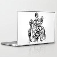 Laptop & iPad Skin featuring Let's Roll by Tom Ledin