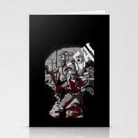 Zombie Rush (Gray Tone V… Stationery Cards