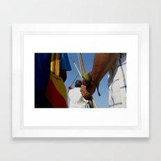 Katchin (Strength) Framed Art Print