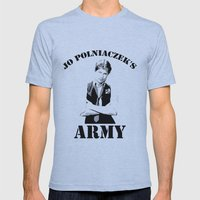 Jo Polniaczek's Army Mens Fitted Tee Athletic Blue SMALL