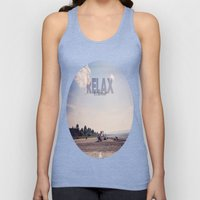 Relax It's Summer Unisex Tank Top