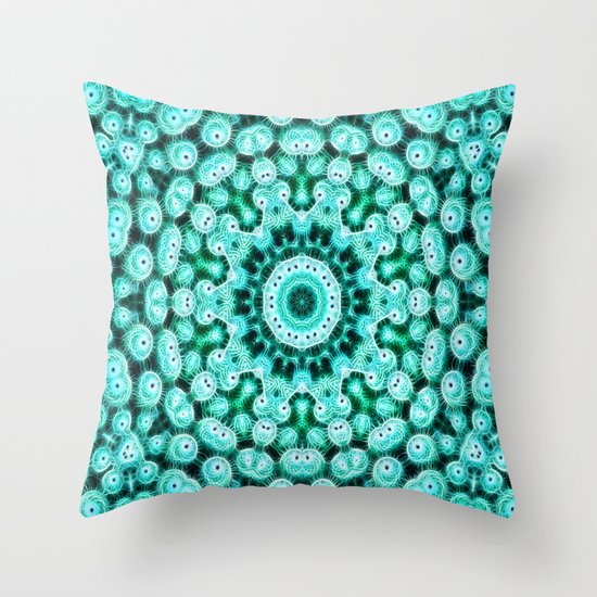 Cactus Star Throw Pillow