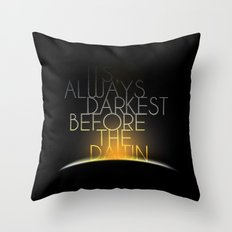 Shake It Out Throw Pillow