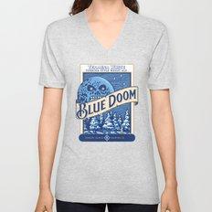 Blue Doom Unisex V-Neck