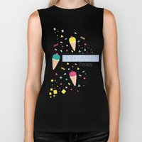 Ice Cream Therapy Biker Tank