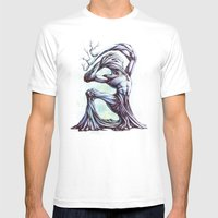 TreeMan Mens Fitted Tee White SMALL