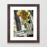 Finding Another Way Framed Art Print