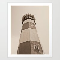 Watch Tower  Art Print