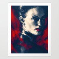 The Woman Art Print