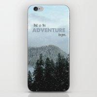 Adventure Begins iPhone & iPod Skin