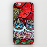 Baby owls iPhone & iPod Skin
