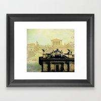 Memories From The Past Framed Art Print