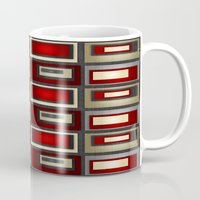 Dark Romance Geometric Mug