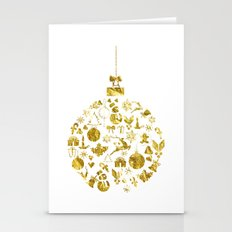 Christmas Ball  Stationery Cards