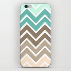 BEACHY CHEVRON iPhone & iPod Skin