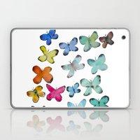 For A Friend: Butterflies Laptop & iPad Skin