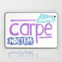 carpe diem / carpe noctem Laptop & iPad Skin
