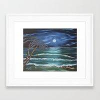 Bahama Blue Framed Art Print