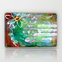 Sing the Music Laptop & iPad Skin