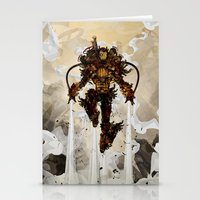 Steamy Iron Stationery Cards