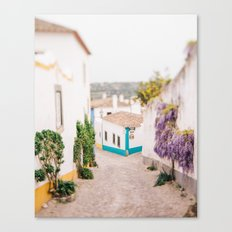 Romantic Village Canvas Print