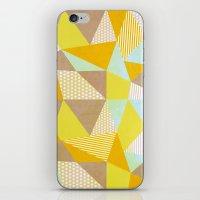 Geometric Warm iPhone & iPod Skin