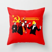 The Communist Party (original) Throw Pillow