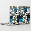 Skullz & Lulz Pattern Laptop & iPad Skin