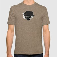 Meeri Mens Fitted Tee Tri-Coffee SMALL