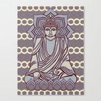 Buddhao4 Canvas Print