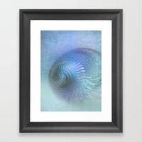 Fantasy Shell Framed Art Print