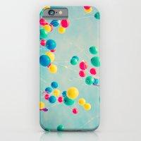 Polka Dots (Colorful Hap… iPhone 6 Slim Case