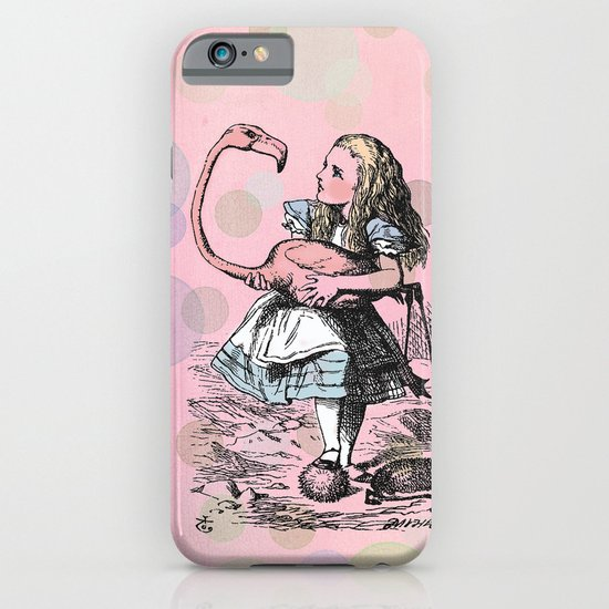 Alice plays Croquet iPhone & iPod Case