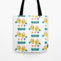 Gardening Owl Tote Bag