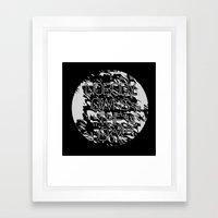 Nobody owns the sky Framed Art Print
