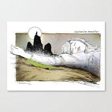 PICNIC AT HANGING ROCK Canvas Print