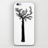 Black & White Tree's iPhone & iPod Skin