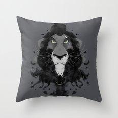 Scar Ink Throw Pillow