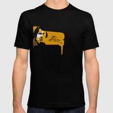 Frederic Chopin SMALL Black Mens Fitted Tee