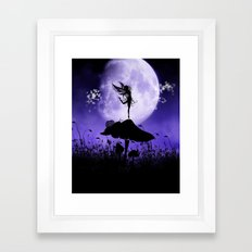 Fairy Silhouette 2 Framed Art Print