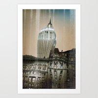 Bending Time Art Print
